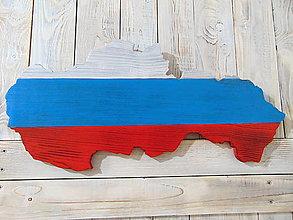 Grafika - Mapa Slovenska, dekorácia - 10472187_