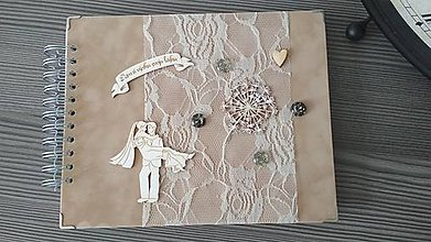 Nezaradené - Svadobná kniha hostí - 10474757_
