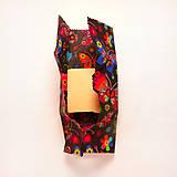 Úžitkový textil - Voskovaný obrúsok - Tmavé motýle - 10475142_