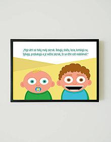 Grafika - Moje deti sú zázrak - 10475204_