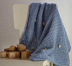 Textil - Merino dečka...nezábudka - 10474697_