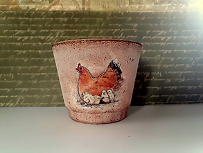 Svietidlá a sviečky - veľkonočný svietnik sliepočka /zľava z 5 na 4 e/ - 10472177_