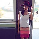 - Bavlnené šaty - jednoduché a krásne - 10472708_