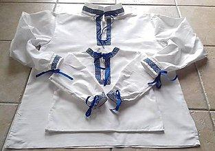 Oblečenie - Košeľa pre otca a syna - 10473075_