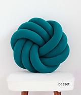 Úžitkový textil - Pletený vankúš - 10475127_