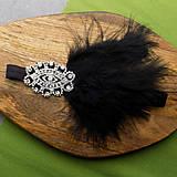 Ozdoby do vlasov - Great Gatsby mini ... čelenka - 10475854_