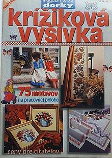 Návody a literatúra - KRÍŽIKOVÁ VÝŠIVKA - magazín DORKY - 10477106_