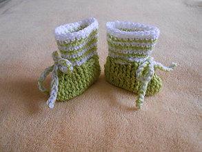 Topánočky - Papučky pre bábätko - 10478223_