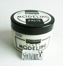 Farby-laky - Modelovacia pasta ľahká, 150 ml - 10475362_