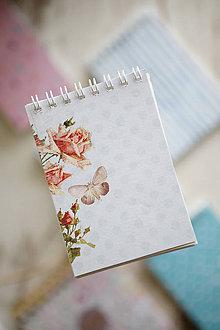 Papiernictvo - Zápisníkovo (motýľ) - 10477481_