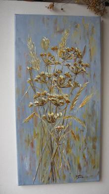 Obrazy - Zlatisté trávy II - 10477322_