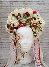 Ozdoby do vlasov - Svadobná folk parta - 10478712_