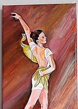 Obraz, Baletka Yasmin, 20 x 40 cm