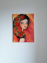 Obraz: Kveta, acryl, 30 x 40 cm