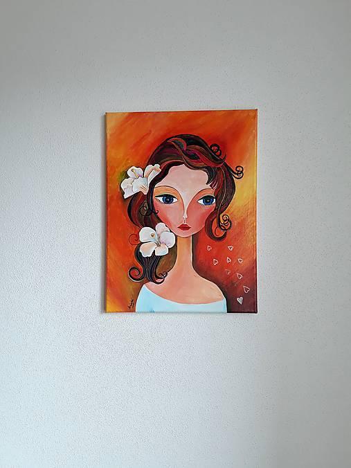 Obraz: Bella, akryl, 30 x 40 cm