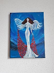 Obrazy - Obraz, Anjel pre Teba, 18 x 24 cm - 10475706_