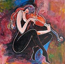 Obrazy - Obraz: Huslistka, 30 x 30 cm - 10475731_