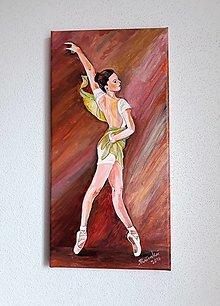 Obrazy - Obraz, Baletka Yasmin, 20 x 40 cm - 10475872_