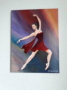 Obrazy - Obraz, Baletka Mia, 30 x 40 cm - 10475981_