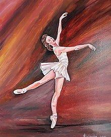 Obrazy - Obraz Baletka Lenka - 10476671_
