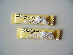 Darčeky pre svadobčanov - svadobné žuvačky - 10475756_