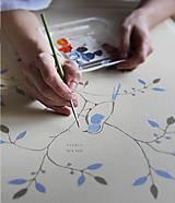 Nábytok - Ručne maľované nábytkové dvierka do Vašej kuchyne, kúpeľne alebo detskej izby - 10475596_