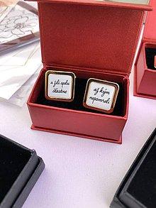 Šperky - Žili spolu šťastne až kým nepomreli - 10478573_