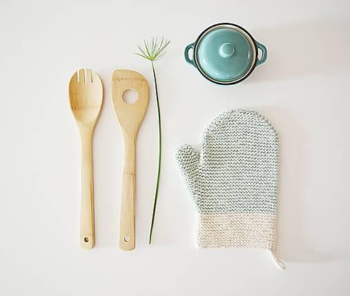 Kuchynská rukavica - mint
