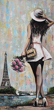 Obrazy - Parižanka - 10475489_