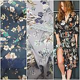 Šaty - Gypsy Dyona šaty z prírodných materiálov - 10476014_
