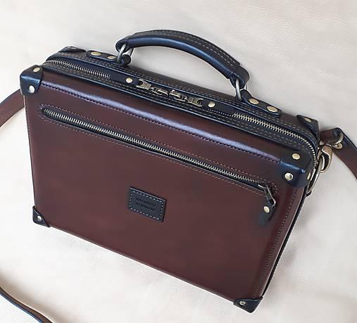 d60f3b8f0388 Kožená taška na notebook   DOGHORSE - SAShE.sk - Handmade Na notebook