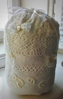 Úžitkový textil - Zarážka proti průvanu Shabby - 10475358_