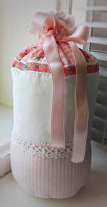 Úžitkový textil - Zarážka proti průvanu Rose - 10475451_