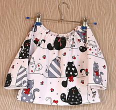 Detské oblečenie - dievčenská blúzka - 10475797_