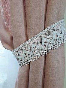 Úžitkový textil - Ľanový záves Simply Color - 10477984_