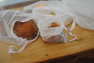 Úžitkový textil - Eko sáčky na potraviny - 10476917_