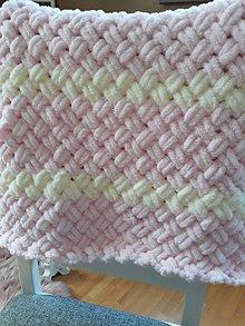 Textil - Detská deka pre dievčatko - 10479680_