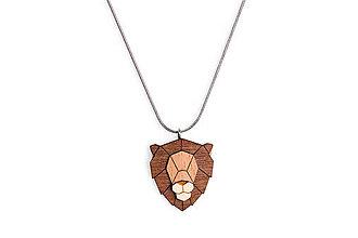 Náhrdelníky - Prívesek Lion Pendant - 10480059_
