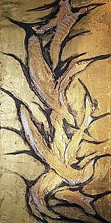 Obrazy - Sculptural gold - 10481594_