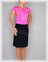 Sukne - Sukne jednobarevná vz.475(více barev) (Oranžová) - 10478923_