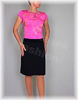 Sukne - Sukne jednobarevná vz.475(více barev) (Oranžová) - 10478924_