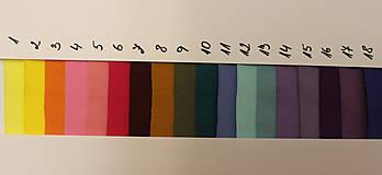 Sukne - Sukne jednobarevná vz.475(více barev) (Oranžová) - 10482013_