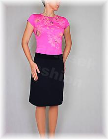 Sukne - Sukne jednobarevná vz.475(více barev) (Bordová) - 10478923_