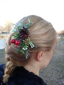 Ozdoby do vlasov - Spona do vlasov - 10481510_