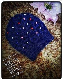 Detské čiapky - Prechodná čiapka - 10480163_