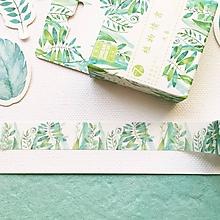 Papier - ozdobná papierová páska Papradie - 10481120_