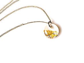 Náhrdelníky - Náhrdelník s medailónom - 10482300_