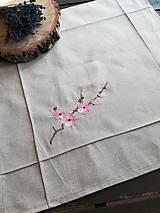 Úžitkový textil - Obrus v prírodnom odtieni režného vzhľadu - 10481617_