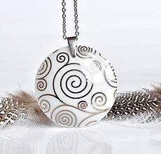Náhrdelníky - Spiral - 10482546_