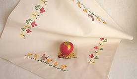 Úžitkový textil - Obrus - napron na stôl - 10480369_